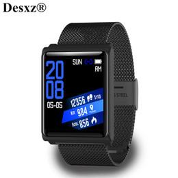 China Desxz Smart Watch Waterproof Smart bracelet Color Screen Waterproof IP 67 Heart Rate Wristband Fitness Tracker Band cheap ip bracelet suppliers