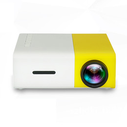 HigH quality portable audio player online shopping - High quality YG300 LED Portable Projector LM mm Audio x Pixels YG HDMI USB Mini Projector Home Media Player