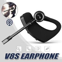 EarphonE mic handfrEE hEadsEt online shopping - V8 V8S Wireless Bluetooth Business Drive Earbuds Headset Stereo Headphone Earphone With Mic Handfree Universal with package