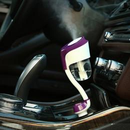 Car 12v Usb Australia - New II 12V Car Steam Humidifier Car Charger USB Air Purifier Aroma Oil Diffuser Aromatherapy Mist Maker Fogger
