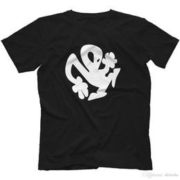 Estilo chinês Tripulação Pescoço Plastikman T-Shirt 100% Algodão Richie Hawtin Minus Techno Conforto macio Camisa de Manga Curta Para Homens em Promoção
