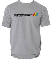 l video UK - Sinclair ZX Spectrum Mens Retro T Shirt 80's Video Game Atari Commodore pc