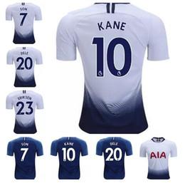 Top thailand quality KANE spurs Soccer Jersey 2018 2019 LAMELA ERIKSEN DELE  SON jersey 18 19 Football kit shirt CAMISETAS DE FUTBOL 20a39bc50