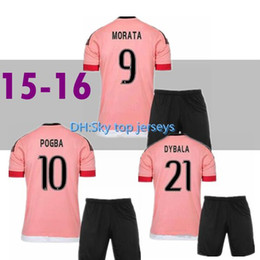 4bd4b312a Pink Soccer Jerseys Canada - 2015 16 Old Pink Juv Legion jerseys DYBALA  Soccer Jerseys CHIELLINI