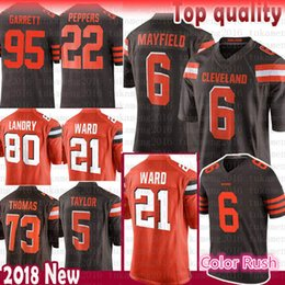 baker mayfield browns jersey for sale