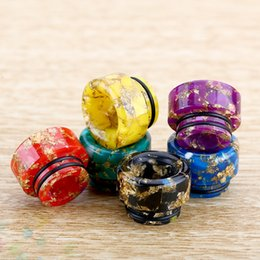 BaBy Bear Box online shopping - 810 Epoxy Resin drip tip Wide Bore TFV8 drip tips Mouthpiece for Tfv8 Big Baby Tfv12 Prince Tank with Acrylic Box DHL Free