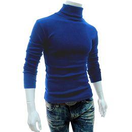 $enCountryForm.capitalKeyWord NZ - 2018 Long Sleeve High Collar Sweaters Winter Men'S Turtleneck Christmas Sweater Warm Knitted Pullovers Male Jumper Knitwear