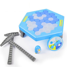 $enCountryForm.capitalKeyWord UK - Blue White Penguin Ice Breaking Save Penguin Parent-child Family Toys Kids Gifts Desktop Game Icebreaker Table Interactive Educational Toys