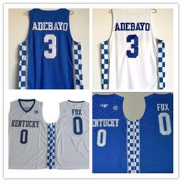 0ede9af62fc ... stitched ncaa jersey; cheap mens ncaa kentucky wildcats 0 deaaron fox college  basketball jersey 3 edrice adebayo kentucky