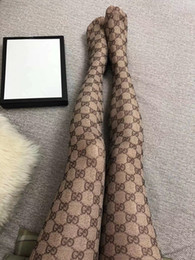 Long over knee socks online shopping - Hot G Stockings Women S Brand Sexy Stay Up Thighs High Stockings Knitted Long Knee High Socks Mesh Pantyhose High Elastic Full G Leg