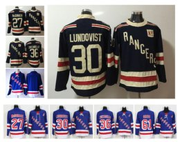 2018 Winter Classic New York Rangers Hockey Jerseys 30 Henrik Lundqvist 27  Ryan McDonagh 36 Mats Zuccarello Blank 61 Rick Nash Jerseys 30c2b91b2