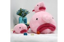 Discount ugly toys - New ugly cute water drop fish cute plush toy doll personality pillow clown fish animal doll children gift free shipping