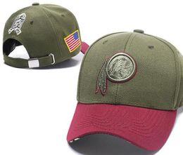 2018 Tienda de fans Sombrero de Washington Sombrero para el sol Sombreros Gorros con cierre ajustable Bandera de los EE. UU.