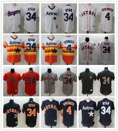 71b062543 ... uk custom mens women youth houston astros jersey 4 george springer 34  nolan ryan blue white