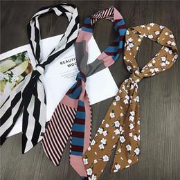 $enCountryForm.capitalKeyWord Canada - Luxury Scarf For Women Brand hijab Designer Headband print Scarves Wraps Linen Lady's Bag Accessories Wholesale Dropshipping