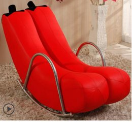 Room Chairs NZ - High Quality Brand new Banana Rocking Chair New Sofa one pcs   CTN 6 Colors Single Chair G22