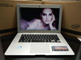 4gb Laptops Canada - 14 inch Notebook J1900 4GB+128GB HDD Quad core WIFI HDMI webcam Tablet Laptop Computer PC Windows 7 8 1.99GHz USB3.0 USB2.0