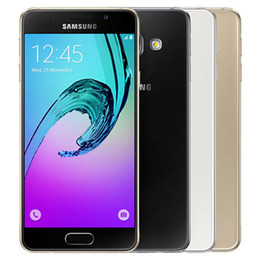 $enCountryForm.capitalKeyWord NZ - Refurbished Original Samsung Galaxy A3 2016 A310F Single SIM 4.7 inch Quad Core 1.5GB RAN 16GB ROM 13MP 4G LTE Android Smart Phone Post 1pcs