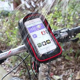 $enCountryForm.capitalKeyWord NZ - Bicycle Bag Waterproof Cycling Bike Frame Phone Bag Pannier Smartphone & GPS Touch Screen Case Bicycle Accessories #2