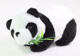 "$enCountryForm.capitalKeyWord UK - 7"" Panda Bear Eating Bamboo Plush Stuffed Animal Toy Birthday Gift Seller"
