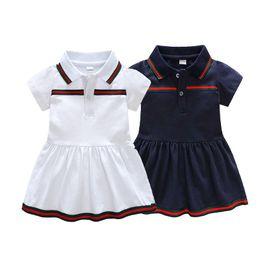 bdc9194c Ropa infantil Primavera y verano vestido para bebé niña 6-36 meses Vestido  de fiesta para bebé Vestido estampado de moda Ropa para niña