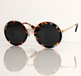 64f9f59a11 2018 New Lady Adumbral Sunglasses Fashion Big Frame Polarized Shades Glasses  Classic Vintage Round Sun Glass UV400 Hipster Sunglass With Box