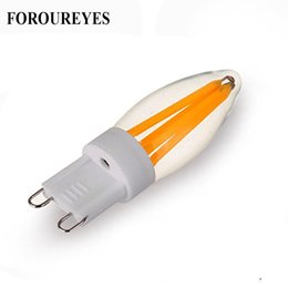 3w g9 lamp online shopping - 10pcs G9 LED Bulb V V W W Filament COB LED lamp Replace W W Halogen Light for Chandelier