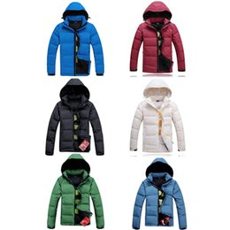 Black rivet jackets men online shopping - North Men Winter Jacket Hooded Men Parkas Casual Warm Male Hoodies Face Fashion Thick Thermal Coats Brand black Clothing