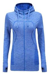 лучшее качество 2019 с длинным рукавом пальто синие колготки спортивная одежда йога топ 3 цвета