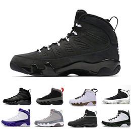 eb18c11f6f036a Cheap NEW 9s Classic 9 OG space Jam Tour blue black white blue blue High  Top basketball shoes for men Sport Outdoor designer Shoes US 8-13