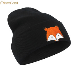 Discount masters hats - 2018 New Arrival Embroidery Pattern Hat Unisex Warm Hat Knitted Cap Hats Warm Cap Soft Master Designer Dropship 170914