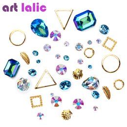 Wholesale Artlalic Bag Hot d Charm Nail Art Design Stone Decorations Strass Rhinestones Alloy Mini Beads Gems Mixed Jewelry Accessories