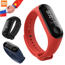 Discount oled smart watch - Original Xiaomi Mi Band 3 0.78 inch OLED Smart Bracelet 50m Swimming Waterproof Fitness Tracker Wristband Watch Xiaomi M