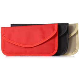 China Universal Anti-radiation Bag, Anti-tracking Pouch Anti-spying GPS RFID Bag Wallet Phone CellPhone Case Cover Pocket for phone Cards SCA408 cheap spy phones suppliers
