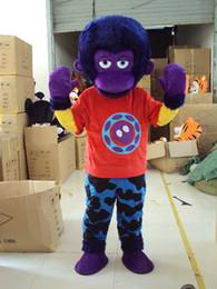 $enCountryForm.capitalKeyWord Canada - Mascot Costume monkey Halloween Christmas Birthday Character Costume Fancy Dress Adult Size monkey Mascot Free Shipping