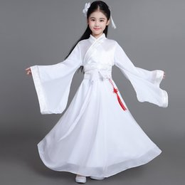 Girls Chinese Costumes Australia - traditional Ancient chinese folk dance costumes girls children classical kids child tang dynasty costume hanfu clothing dress