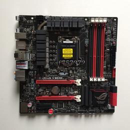 intel z77 2019 - For Asus M5G MAXIMUS V GENE Desktop Motherboard LGA 1155 Z77 Intel HDMI SATA 6Gb s USB 3.0 Systemboard