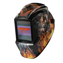Spot welder welding online shopping - Big View Eara Arc Sensor DIN5 DIN13 Solar Auto Darkening TIG Spot Welding Mask Helmet Welder Cap Lens Face mask