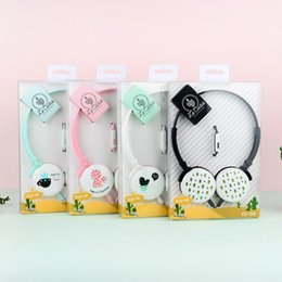 $enCountryForm.capitalKeyWord NZ - Cute Cactus Plant Headphones Portable Headset Earphones for Samsung Xiaomi mp3 Kids Student Birthday Gifts With Retail box