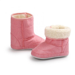 $enCountryForm.capitalKeyWord Canada - fur Soft warm girl Snow shoes Baby baby Crib Cotton winter kids Sole Boots imiation toddler Cloth footwear Boots Toddler Shoes
