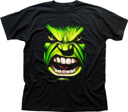 205cc6a2d Cheap Graphic T Shirts Canada - Cheap Graphic T Shirts Men's Short The  Incredible Hulk Face