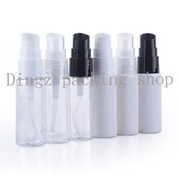Refillable powdeR online shopping - 50pcs ml white clear models beak bottle powder pump Lotion bottle refillable bottle cosmetic packaging
