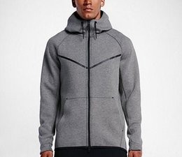 Chinese  2018Autumn And Winter Sports Leisure Men Hooded Cotton Sweater New Fashion Brand Man's Coat Plus Size L-5XL manufacturers