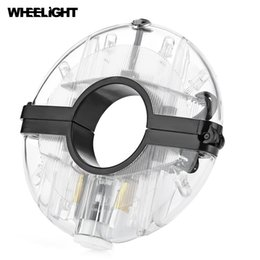 Hub led lamp For Sale - WHEELIGHT Rechargeable Bicycle Cycling Hub Decoration Light Bike Safety Warning Wheel Lamp with the diameter no more than mm
