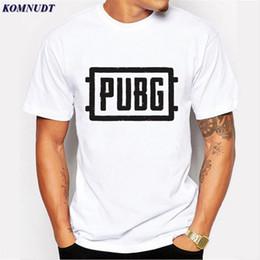 d50ec82333 2018 Player Unknown's Battlegrounds PUBG T Shirts WINNER WINNER CHICKEN  DINNER T Shirt For Game Fans Short Sleeve Tee Shirts