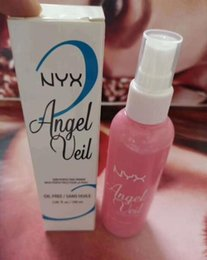 Oil Free Makeup Brands Australia - Brand New NYX Angel Veil Lotion Cosmetics Skin Perfecting Primer Oil Free SANS HUILE Foundation Primer 100ml DHL Free Face Makeup