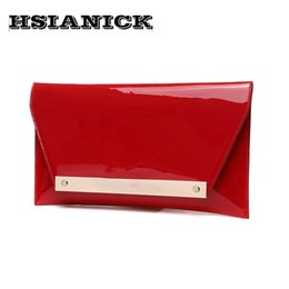 Discount handbag dinner party - 2017 Real Interior Compartment Women Woman Super Luxury New Clutch Bag Female Bright Surface Handbag Evening Party Prom