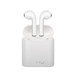 $enCountryForm.capitalKeyWord UK - for Airpro Bluetooth Earphone Headphone Wireless Headset Double Twins Stereo Earbuds for Apple Ipad IPhone 6 I7 Xiaomi Huawei