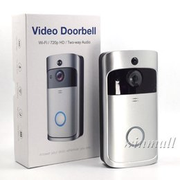 $enCountryForm.capitalKeyWord Canada - WiFi Video Doorbell Smart 720P HD Wireless Alarm system Security Camera with PIR Motion Detection For IOS Android Phone APP Control