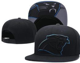 2018 Fan-Shop Panthers Mütze Hut Outlet Sonnenhut Kopfbedeckung Snapback Hat Cap Einstellbar All Team Baseball Ball Zurückschnappen Hysteresenhüte